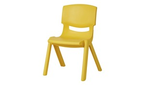 Kinderstuhl - gelb - 26 cm - 53 cm - 26 cm
