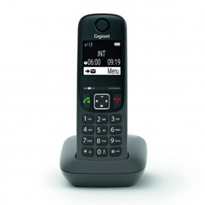 Gigaset Telefon AE690 ,  schnurlos, anthrazit