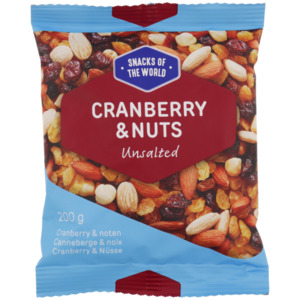 Snacks of the World Cranberry & Nuts
