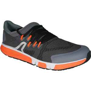 Freizeitschuhe Walking athletisches Gehen RW900 Langstrecke grau/orange
