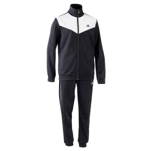 Trainingsanzug Adidas Kinder schwarz