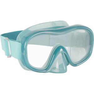 Schnorchelmaske SNK 520 gehärtetes Glas Erwachsene blaugrün