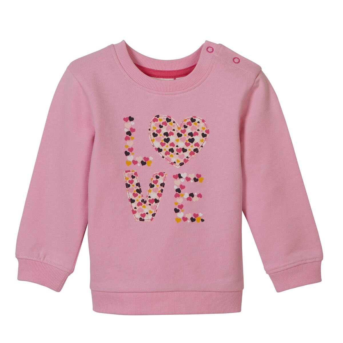 Bild 2 von Baby-Mädchen-Sweatshirt mit Love-Aufdruck