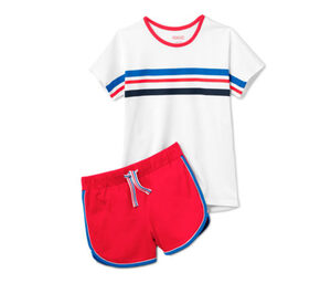 Mädchen-Shorty-Pyjama