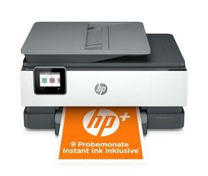 HP OfficeJet Pro 8024e Multifunktionsdrucker (Tintenstrahldrucker, 4-in-1, Fax, Scanner, Kopierer, WLAN, LAN, USB, Airprint, Instant Ink, Farbdrucker, A4, A5, A6, B5)