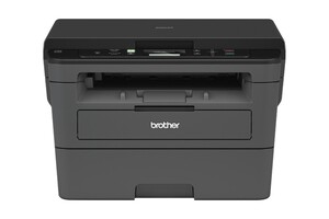 BROTHER DCP-L2530DW Multifunktionsdrucker (Schwarzweiß-Laserdrucker, 3-in-1, Scanner, Kopierer, WLAN)