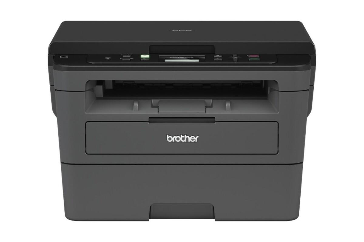 Bild 1 von BROTHER DCP-L2530DW Multifunktionsdrucker (Schwarzweiß-Laserdrucker, 3-in-1, Scanner, Kopierer, WLAN)
