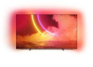 PHILIPS 65 OLED 805 OLED TV (65 Zoll (164 cm), 4K UHD, Smart TV, Sprachsteuerung, USB-Aufnahme, Ambilight, Netflix/Amazon)