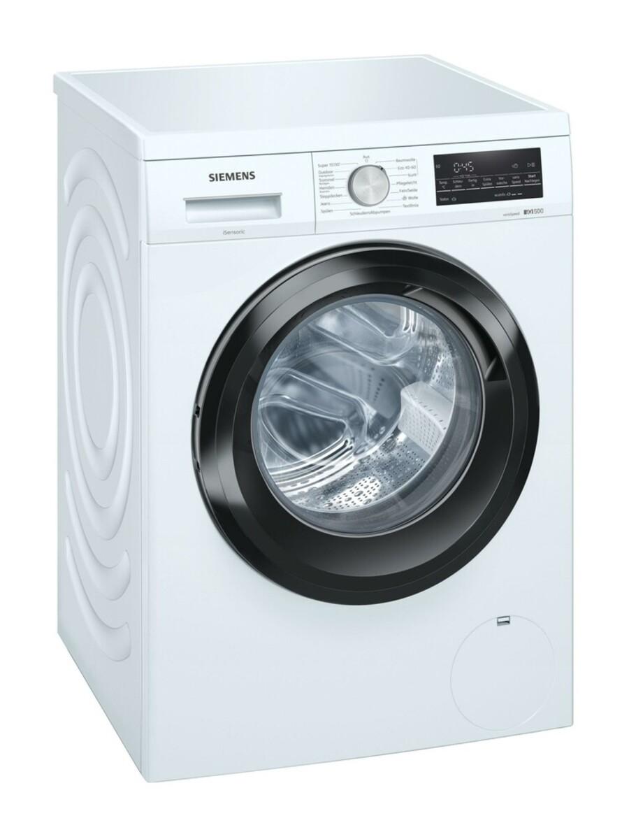 Bild 1 von SIEMENS WU14UT70EX Waschmaschine (Frontlader, freistehend, unterbaufähig, C, 9 kg, 1400 U/min, iQdrive, iSensoric, Nachlegefunktion)