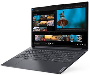 Lenovo Yoga Slim7 15IIL05 slate grey Notebook (15,6 Zoll FHD IPS (matt), i5-1035G1, 8 GB RAM, 1 TB SSD, GeForce MX350, Windows 10 Home)