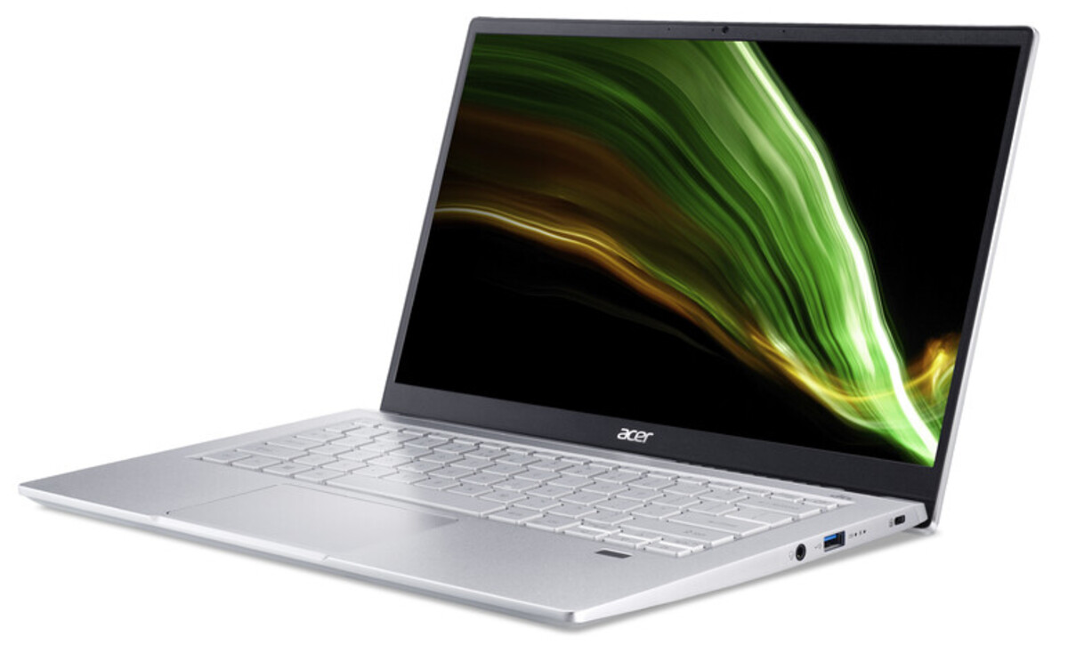 Bild 3 von ACER Swift 3 (SF314-511-711G) Notebook (14 Zoll Full-HD IPS (matt), Intel Core™ i7-1165G7, 16 GB RAM, 1.000 GB SSD, Intel Iris Xe Grafik, Windows 10 Home (64 Bit), Fingerprint)