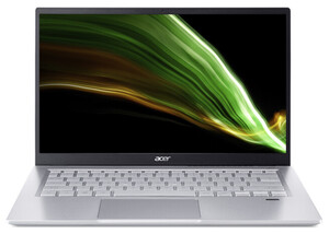 ACER Swift 3 (SF314-511-57DJ) Notebook (14 Zoll Full-HD IPS (matt), Intel® Core™ i5-1135G7, 16 GB RAM, 512 GB SSD, Intel Iris Xe Grafik, Windows 10 Home, Fingerprint)