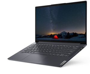 Lenovo Yoga Slim 7 14ARE05 Notebook (14 Zoll Full-HD IPS matt, Ryzen 5-4500U, 8 GB, 512 GB SSD, Vega Grafik)