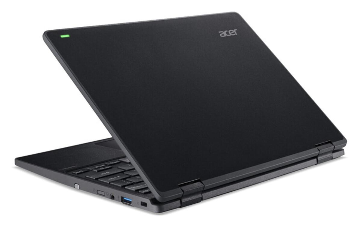 Bild 2 von ACER TravelMate Spin B3 Notebook (11,6 Zoll Multi Touch FHD IPS, Pentium N5030,4 GB RAM, 128 SSD, UHD-Grafik 605, Windows Ink, Militärstandard 810G, Windows 10 Pro)