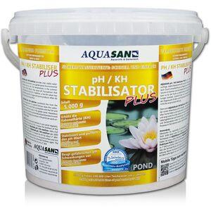 Aquasan Aquaristik&gartenteich - AQUASAN Gartenteich pH / KH Stabilisator PLUS (Erhöht den KH-Wert und stabilisiert den pH-Wert - Sorgt dabei für