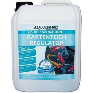 Aquasan Aquaristik&gartenteich - AQUASAN Bio-Fit Gartenteich Regulator 100% natürlich, Mikroorganismen 5 Liter
