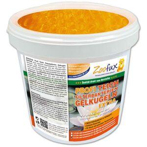 Zoofux Heimtierartikel Schlau Gekauft - ZOOFUX Profi Gartenteich Filterbakterien Gelkugeln EXTRA (Lösen sich nach und nach auf und geben dabei