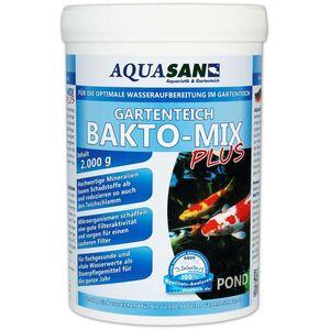 Aquasan Aquaristik&gartenteich - AQUASAN Gartenteich BAKTO-MIX PLUS 2 kg