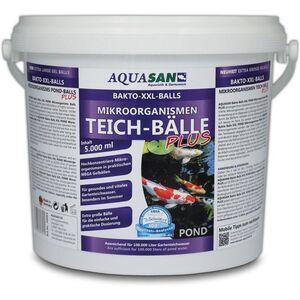 Aquasan Aquaristik&gartenteich - AQUASAN Gartenteich Mikroorganismen XXL Bakto-Balls PLUS (GRATIS Lieferung in DE - Hochkonzentriert, extra große Gel