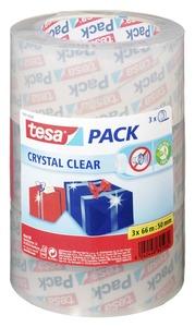 Tesa Pack Crystal Clear 50 mmx66 m