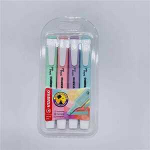 "Stabilo ""Swing Cool"" Textmarker Pastell, 4 Farben"