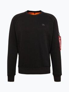 Alpha Industries Herren Sweatshirt schwarz Gr. S