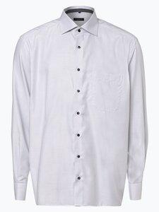 Eterna Comfort Fit Herren Hemd Bügelfrei grau Gr. 41