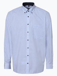 Eterna Comfort Fit Herren Hemd - Bügelfrei blau Gr. 42