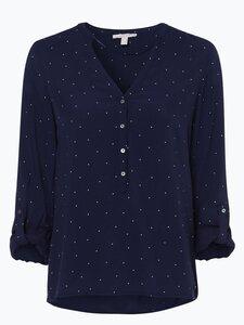 Esprit Casual Damen Bluse blau Gr. 36