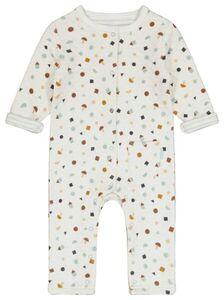 HEMA Newborn-Jumpsuit, Gefüttert Eierschalenfarben