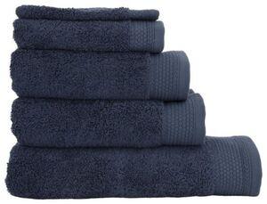 HEMA Handtücher - Extraschwere Hotelqualität Dunkelblau