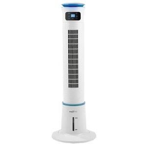 MAXXMEE Luftkühler mit Wassertank 5 l, 60 W, weiß/blau