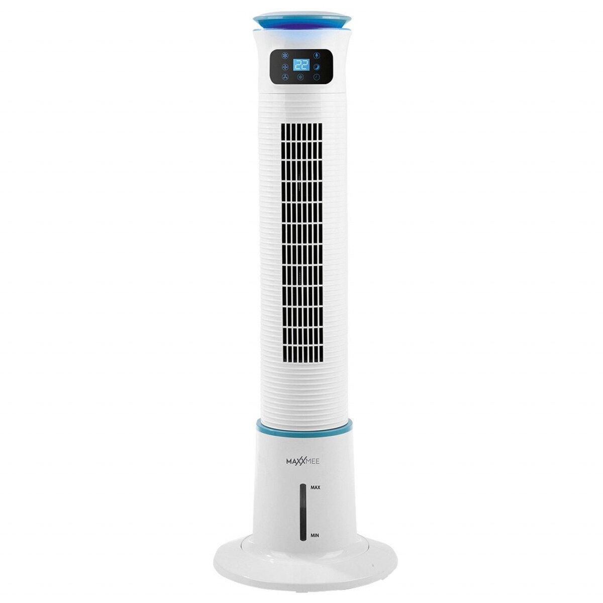 Bild 1 von MAXXMEE Luftkühler mit Wassertank 5 l, 60 W, weiß/blau