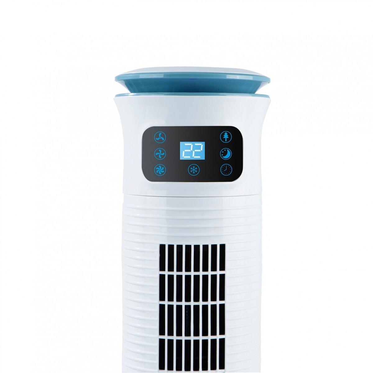 Bild 2 von MAXXMEE Luftkühler mit Wassertank 5 l, 60 W, weiß/blau