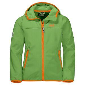 Jack Wolfskin Fourwinds Jacket Kids Softshelljacke Kinder 152 grün green jade