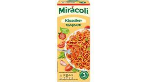MIRACOLI Fertiggericht Spaghetti Tomate 3 Portionen 379,8g