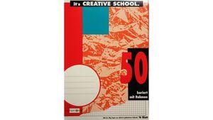PAPERZONE Heft A4 Lineatur 50 16 Blatt