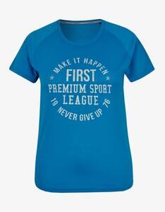 Fit&More - Fitness T-Shirt mit großem Brustprint
