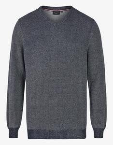Bexleys man - Pullover in Piqué-Struktur