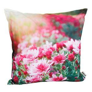 Outdoorkissen Chrysanthemen 45x45cm Pink