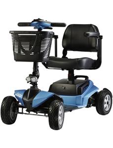Seniorenmobil »Listo«, max. 6 km/h, Reichweite: 21 km, blau