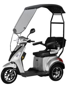 Elektromobil »Bologna«, max. 25 km/h, Reichweite: 50 km, silberfarben