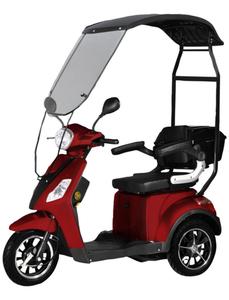Elektromobil »Bologna«, max. 25 km/h, Reichweite: 50 km, rot