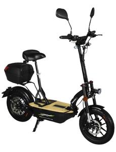 Elektrofaltroller »Eco Tourer Safety Plus«, max. 45 km/h, Reichweite: 45 km, schwarz