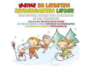da music / Deutsche Austrophon Various - Meine 20 Liebsten Kindergarten Lieder Vol.10 - Compactdisc