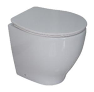 Duroplast WC-Sitz superdünn Feder