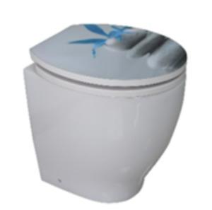 Duroplast WC-Sitz mit Acrylbeschichtung Zen