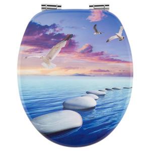 Badkomfort 3D-WC-Sitz - Steinsteg