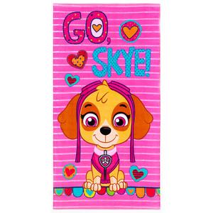 Disney/Nickelodeon Velours-Duschtuch/-Strandlaken - Paw Patrol Girls