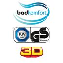 Bild 2 von Badkomfort 3D-WC-Sitz - Strand